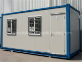 모든 공용품을%s 가진 Prefabricated 20ft 콘테이너 홈은 설치했다