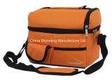 Unisex Орандж изолировало мешок охладителя пикника коробки обеда