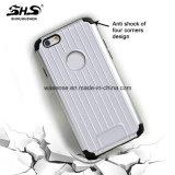 Shs 2 di vendita caldi in 1 cassa ibrida del telefono del PC di TPU sottile eccellente per il iPhone 6