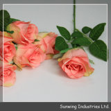 Hochzeit Decoration Cheap Plastic Artificial Silk Flower für Sale