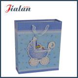 Подгоняйте с мешком упаковки подарков младенца веревочки тесемки 3D бумажным