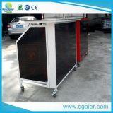 Comptoir de bar mobile, comptoir de bar portatif pliable, comptoir de barre acrylique