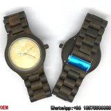 최상 나무 또는 흑단 시계, 석영 시계, 대리석 시계 Hl04