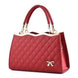 方法ルンペン袋PUのBow Designer Handbag革女性の女性