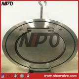 Tipo única válvula da bolacha de verificação do balanço do disco (corpo do forjamento)