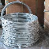 Tubo resistente a temperatura elevata della bobina dell'acciaio inossidabile 316 di alta precisione