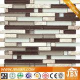 Material de la decoración, mosaico de cristal del azulejo de la pared para el interior (M855043)