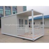 Casa do recipiente, casa modular para o dormitório do hotel do escritório pré-fabricado