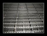 Serrated противоюзовая гальванизированная решетка стали