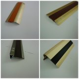 Kga Series Rubber Decorative Glissent-Proof et Ongle-Hidden Alu Flooring Profiles