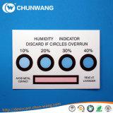 De Kaarten van de Indicator van de vochtigheid, de Gevoelige Sticker van het Water