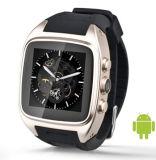 reloj elegante androide de 3G WiFi GPS G/M