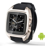 Reloj elegante androide con el almacén del juego de Google