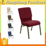 販売のための赤いファブリック教会椅子