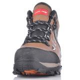 Zapatos de seguridad resistentes calientes protectores profesionales para los trabajadores M-8355 Brown