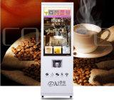 Café y té de la leche de la máquina expendedora automática Copa Falling