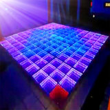 Disco Stage 3D Effect Mirror Portable LED Dance Floor