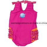 Pannolino riutilizzabile del bambino di nuotata, muta umida calda, costume da bagno di galleggiabilità. Wm030