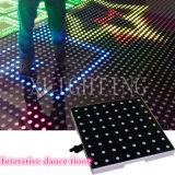 Diodo emissor de luz portátil Dance Floor do RGB Colorfull para o banquete de casamento