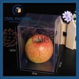 Caisse d'emballage transparente de nourriture d'animal familier à extrémité élevé sans l'impression (CMG-PVC-024)