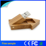 2016 clés de mémoire USB en bois de forme de Chambre d'aperçus gratuits