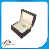 Doos van de Omslag van de Gift van de luxe de Houten voor de Verpakking van het Horloge voor Verkoop