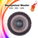 Quente-Vendendo '' altofalante 2265HPL 15 com o Woofer do excitador do ímã do Neodymium