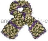 Lenço do Crochet da senhora Forma Handmade Acrílico Confeção de malhas