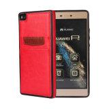 중국 Huawei P8/명예 7을%s 도매 가죽 셀룰라 전화 상자