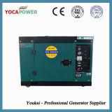 Generador de potencia eléctrico insonoro refrescado aire del motor diesel Genset
