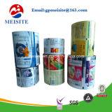 El conjunto plástico empaqueta la película impresa galleta del acondicionamiento de los alimentos de las galletas en rodillo