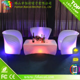 Colors Changing를 가진 옥외 Plastic LED Chaise Lounge Chair