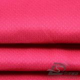agua de 50d 300t y de la ropa de deportes tela tejida chaqueta al aire libre Viento-Resistente 100% del filamento del poliester del telar jacquar abajo (53176)