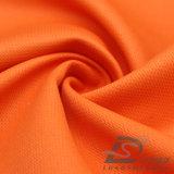 agua de 75D 210t y de la ropa de deportes tela rayada tejida chaqueta al aire libre Viento-Resistente 100% de la pongis del poliester del telar jacquar del Wheatear abajo (E011)