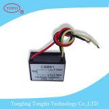 capacitor Sh do capacitor Cbb61 do capacitor do ventilador de 3.5UF 450V Cbb61