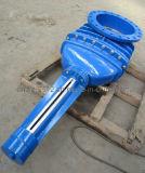 Metallo aumentante della valvola a saracinesca del gambo messo con l'asta cilindrica di estensione