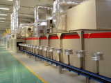 Powder automatico Coating Production Line per Car Wheel