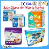 Serviettes bon marché de bébé de couches-culottes de bébé de bébé de produits en gros de soin