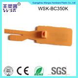 Guangzhou-Zoll gedruckte Wärme-Plastiksicherheits-Behälter-Dichtung