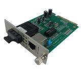 10/100 convertidor de los medios de la fibra de Mbps, convertidor de fibra óptica de los medios, convertidor rápido de los medios de Ethernet