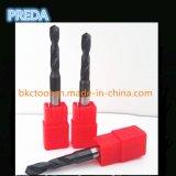 在庫の中国の炭化物HRC60のツイストドリルTialn