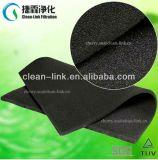 Media de filtro activados fibrosos del carbón del amortiguador del olor