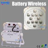 Hete Verkoop RGBWA 5 in 1 van de LEIDENE Licht 12PCS*15W Draadloos Batterij
