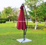 수영장 정원 그늘 옥외 오프셋 우산