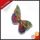 Kentekens van het Borduurwerk van de Vlinder van de douane 3D Dierlijke