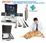 Cor Doppler Ew-C8V do varredor do ultra-som do portátil com ponta de prova Rectal LV7.5/60 para a gravidez do teste de animais grandes