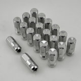 20PCS Aluminum Wheel Colored Lug Nut voor Raceauto