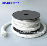 Corda quadrada trançada do vidro de fibra da selagem do filamento