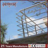 Balustrades de balcon d'acier inoxydable de balustrades en métal (DMS-B2286)