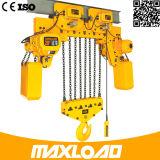Élévateur à chaînes électrique de 5 tonnes avec le type d'Inférieur-Espace libre (HHBB05-02SL)